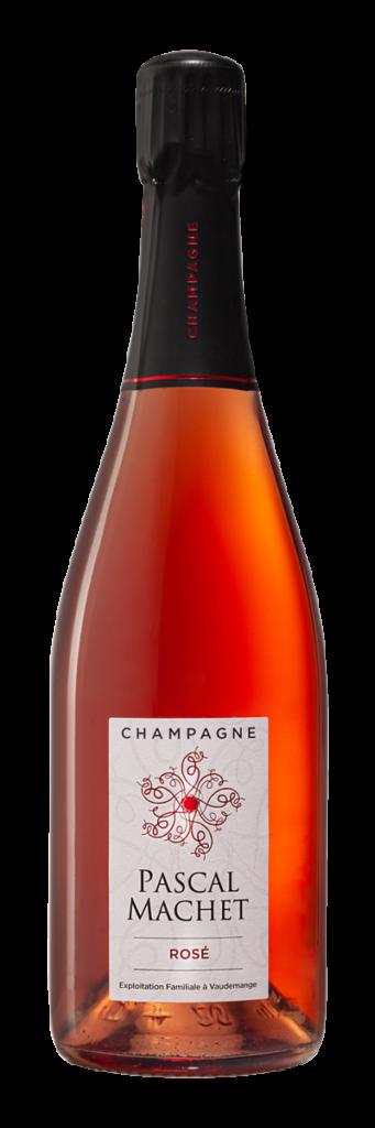 Bouteille Rosé Champagne Pascal Machet