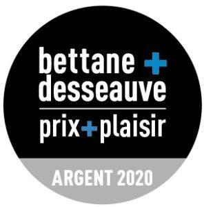 Médaille d'argent Bettane+Desseauve 2020